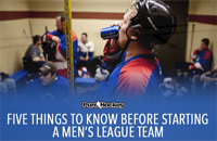 Starting a Men's League Team