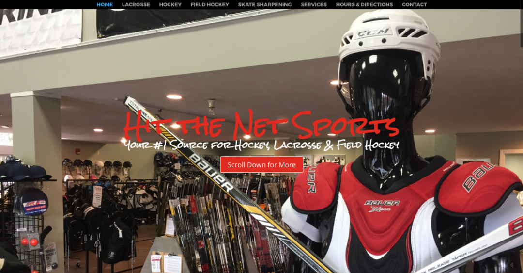Hit The Net Sports Website